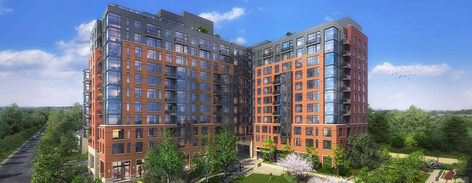 Brand New, Luxury Apartments in Chevy Chase, MD